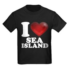 I Heart Sea Island T-Shirt
