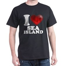 I Heart Sea Island T-Shirt