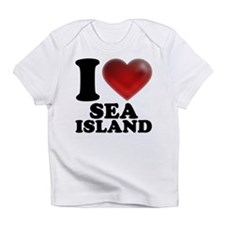 I Heart Sea Island Infant T-Shirt