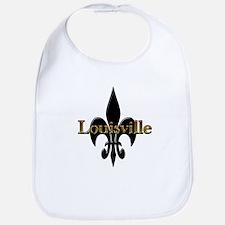 Louisville Fleur de Lis Bib