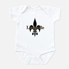Louisville Fleur de Lis Infant Bodysuit