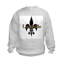 Louisville Fleur de Lis Sweatshirt