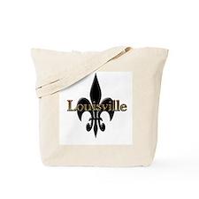 Louisville Fleur de Lis Tote Bag