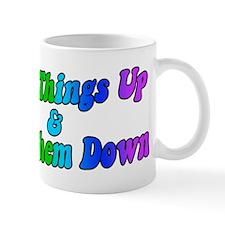 Retro Lift Things Up & Put Them Down Mug