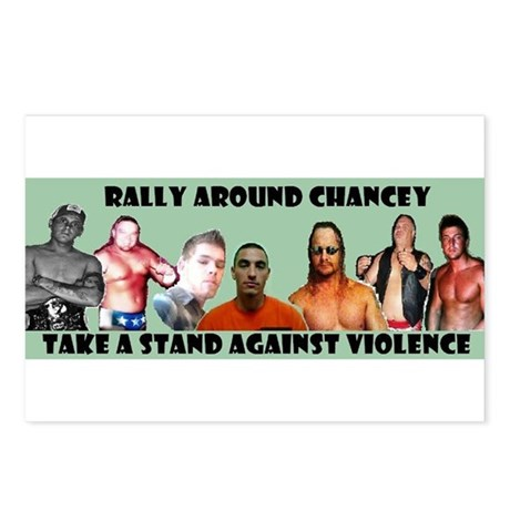 Rally Around Chancey Postcards (Package of 8)