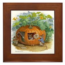 Peter, Peter, Pumpkin-eater Framed Tile