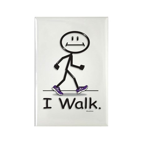 BusyBodies Walking Rectangle Magnet (100 pack)