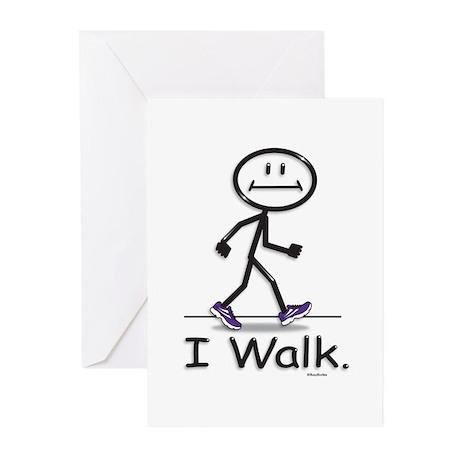 BusyBodies Walking Greeting Cards (Pk of 10)