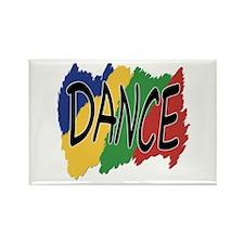 Dance Graffiti Rectangle Magnet