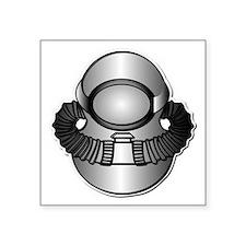 """Army Diver - SCUBA wo TXT Square Sticker 3"""" x 3"""""""