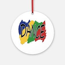 Dance Graffiti Ornament (Round)