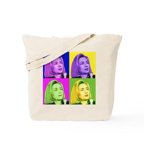 '08 President Hillary Clinton Tote Bag