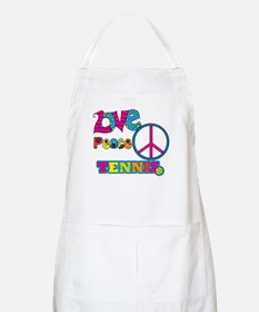 Love Peace Tennis Apron