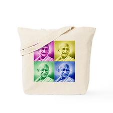 Mahatma Gandhi Hindu Tote Bag