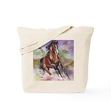 Stallion Running  Tote Bag