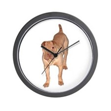 Chinese Shar Pei Art Wall Clock