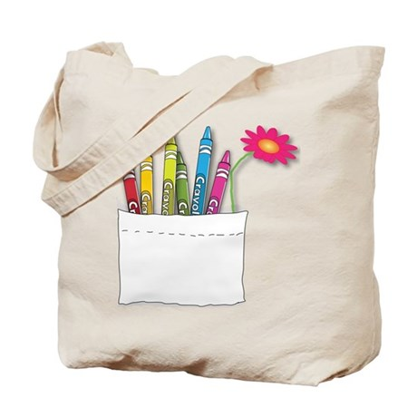 Happiness is...a Pocketful of Colors Tote Bag