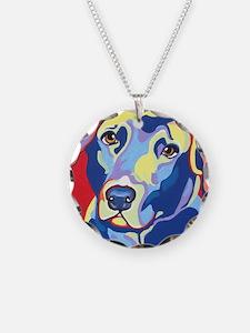 Lab Pop Art Necklace