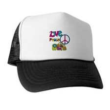 Love Peace Sports Trucker Hat