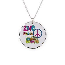 Love Peace Sports Necklace