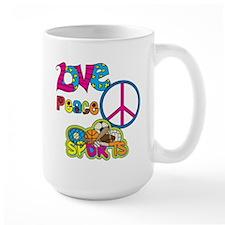Love Peace Sports Mug