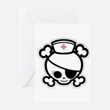 Nurse Molly II-bw Greeting Cards (Pk of 10)