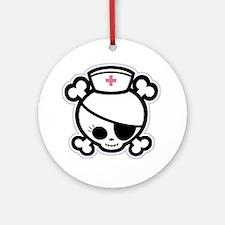 Nurse Molly II-bw Ornament (Round)