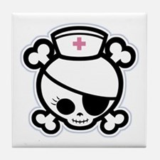 Nurse Molly II-bw Tile Coaster
