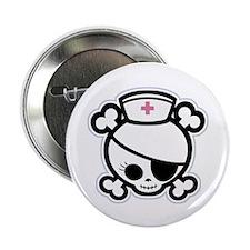 "Nurse Molly II-bw 2.25"" Button (10 pack)"
