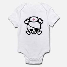 Nurse Molly II-bw Infant Bodysuit