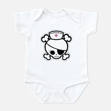 Nurse Molly II-bw Infant Bodysuit