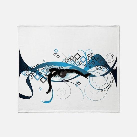 Making Waves Throw Blanket