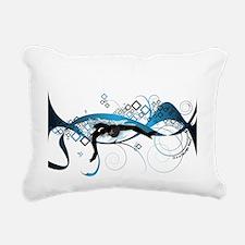Making Waves Rectangular Canvas Pillow