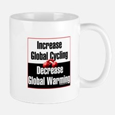 """Increase Global Cycling"" Mug"