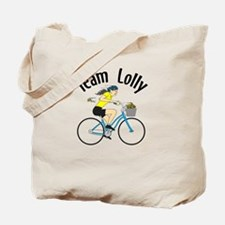 Team Lolly Tote Bag