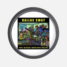 DALLAS SWAT Wall Clock
