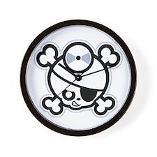 Jolly Doctor -bw Wall Clock