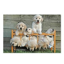 Nap Time Puppies Postcards (Package of 8)
