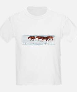 Chincoteague Pony Kids T-Shirt