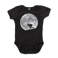 Moon longbarding Baby Bodysuit