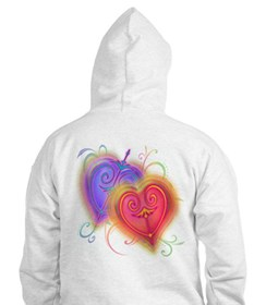 Hearts of Fire Hoodie