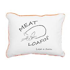 Meat Loafin Rectangular Canvas Pillow