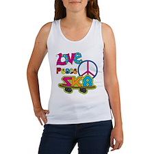 Love Peace Skate Women's Tank Top