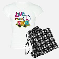 Love Peace Skate Pajamas