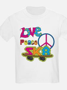 Love Peace Skate T-Shirt