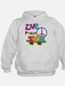 Love Peace Skate Hoodie