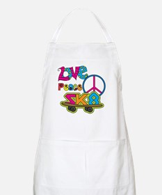 Love Peace Skate Apron