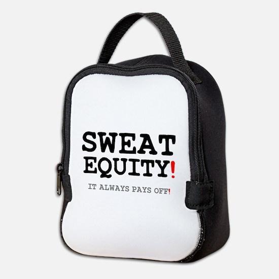 SWEAT EQUITY! Neoprene Lunch Bag