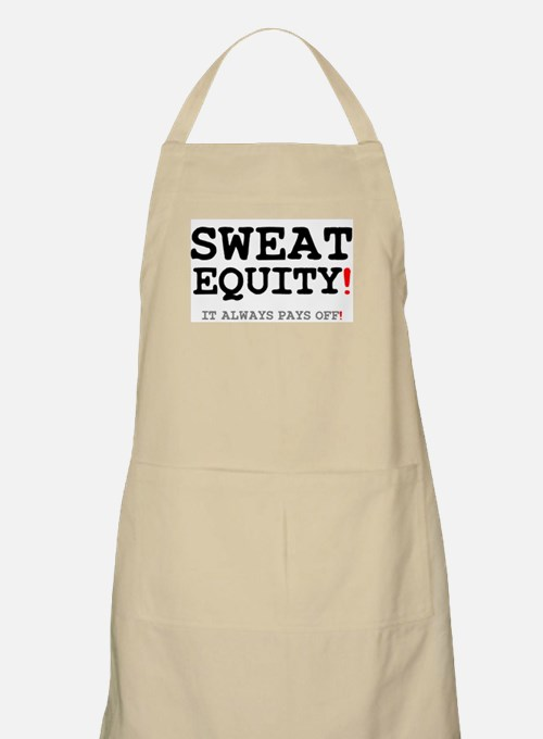 SWEAT EQUITY! Light Apron