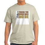 Double Bass:Touch/Die Ash Grey T-Shirt